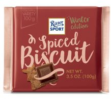 Ritter Sport Winter Edition - Spiced Biscuit